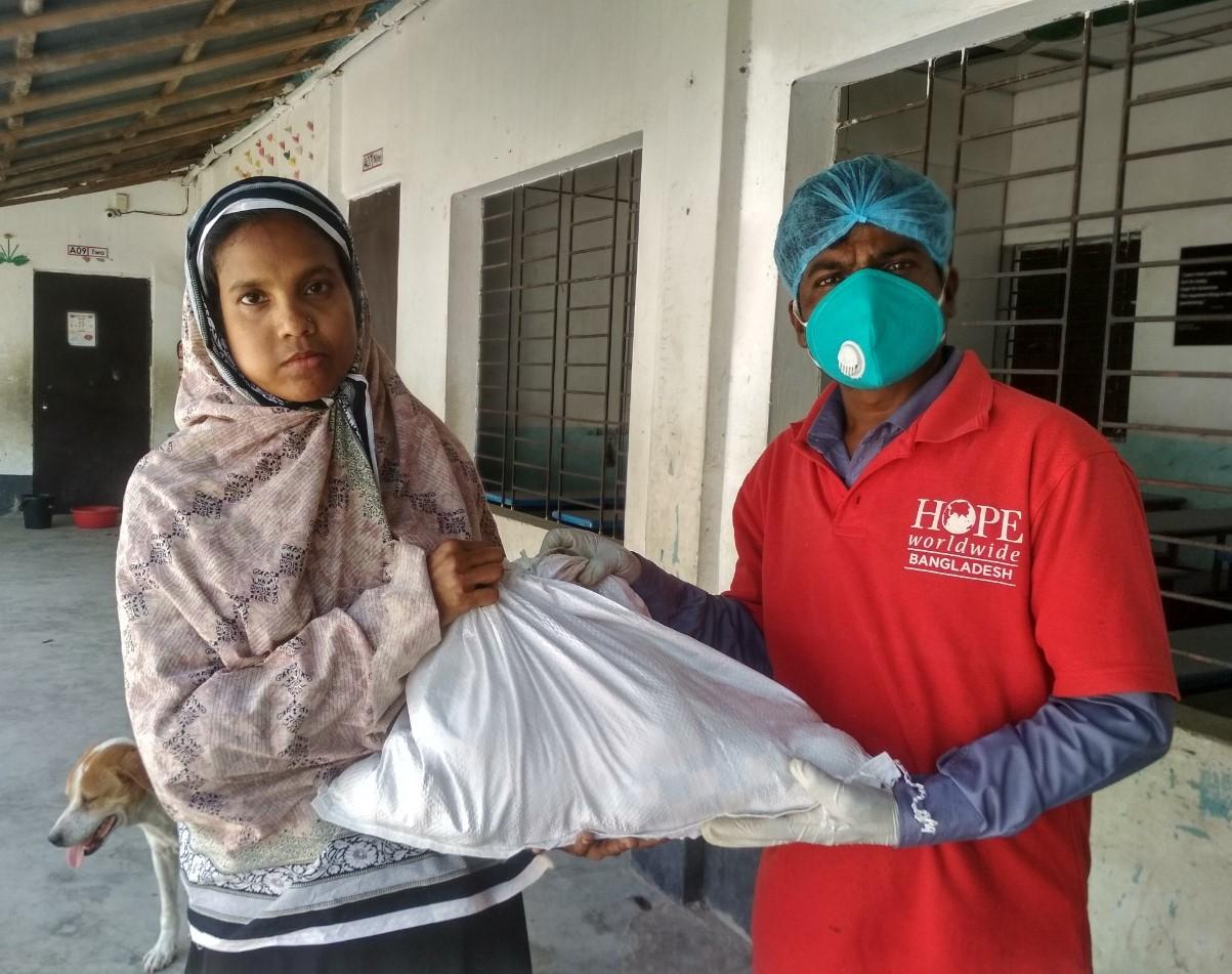 COVID-19 Relief HOPE worldwide UK